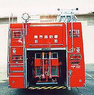 ホースカー油圧昇降装置