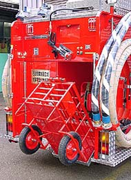 加納式ホースカー油圧昇降装置