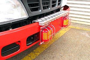 LED式フロント赤色点滅灯
