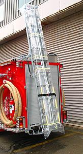 バランスダンパー梯子昇降装置