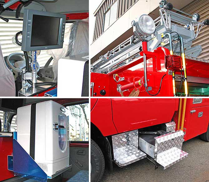 動態管理システム、35W HID、冷蔵庫