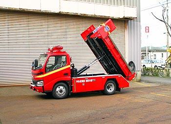 平ボディはダンプトラックの機能があります