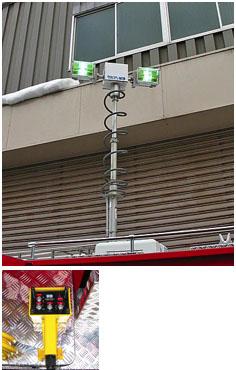 ナイトスキャンチーフ(メタルハライド照明装置)